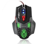 Sumvision Nemesis Panzer High Precision Gaming Mouse with RED Scroll Wheel