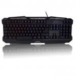 Sumvision Spectrum Indigo LED illuminated Backlit USB MultiMedia Gaming Keyboard - Blue/Red/Purple