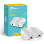 TP-Link TL-PA4010KIT V2 - AV600 Nano Powerline Adapter Starter Kit - 2 Pack