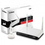 """Edimax WK-2080 WiFi N-lite 150Mbps Router and USB """"n"""" Wireless Adaptor Bundle - Retail"""