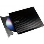 ASUS SDRW-08D2S-U LITE External Slimline SATA DVD Writer - Black