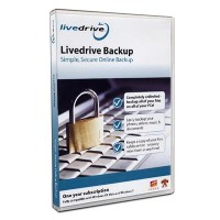LiveDrive **OFFER** Simple, Secure Online Backup Software - 1 Year Subscription