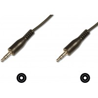 Stereo 3.5mm Male Plug to 3.5mm Male Plug (Gold Plated) - 5.0 Metres Length