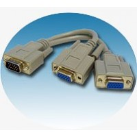 SVGA Monitor Splitter Cable
