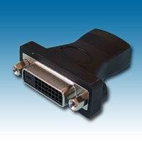 HDMI SKT to DVI SKT (24+KEY) ADAPTOR (261-2787)