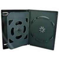 3 WAY DVD Storage Cases (Black) - 100 BOX