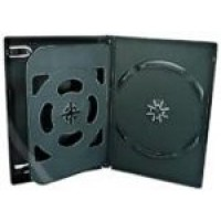 3 WAY DVD Storage Cases (Black) - 10 BOX