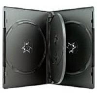 4 WAY DVD Storage Cases (Black) - 7 BOX