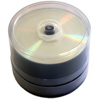 Taiyo Yuden Professional WATERSHIELD Full Face Printable CD-R in 50 TUB - 52041