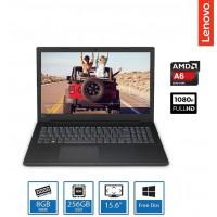 Lenovo V145 AMD A6-9225, 8GB, 256GB SSD, DVDRW 15.6 Inch FHD FreeDos Laptop