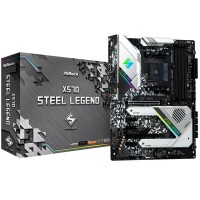 ASRock AMD Ryzen X570 Steel Legend AM4 PCIe 4.0 ATX Motherboard