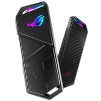 Asus ROG STRIX ARION M.2 NVMe SSD Enclosure USB 3.2 Gen2 Type-C/A Aluminium Thermal Pads RGB Lighting