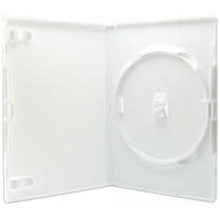 Amaray Premium Single WHITE 14mm DVD Case - 50 BOX - AMA02318KA