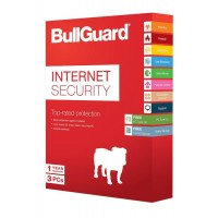 BullGuard Internet Security, 3 User License, 5GB Online Backup - Retail