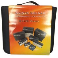 Digitalpromo Value Executive 240 Disc (BLUE & SILVER) Carry Case