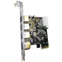 Dynamode USB-4PCI-3.0 4 Port USB 3.0 PCI Express / PCIe Card