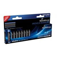 MediaRange MRBAT102 Premium Alkaline AAA Type 1.5V Batteries - 10 PACK