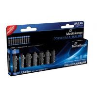 MediaRange MRBAT105 Premium Alkaline AA Type 1.5V Batteries - 10 PACK