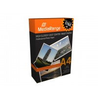 MediaRange MRINK103 A4 5760dpi Gloss White Photo Inkjet Paper 220gsm (100 SHEETS)