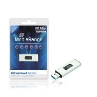 MediaRange 32GB USB3.0 SuperSpeed Capless Flash Drive - MR916