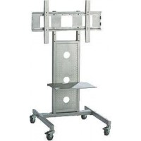 "Brateck TV Trolley Stand, with 1 Shelf, up to 50"" Screen Load Capacity 50kgs - PAVS102"