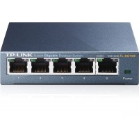 TP-Link Gigabit Steel Cased 5-Port Desktop Switch - TL-SG105