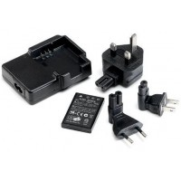 Veho VCC-A004-KSB Kuzo HD Camcorder Spare Battery and International Charger Kit - Retail