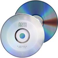 Arita Branded RITEK 16x Speed 4.7GB DVD-R - 50 Pack