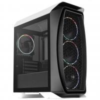 Aerocool Aero One Mini Eclipse Micro-ATX ARGB Windowed PC Gaming Case White / Black