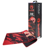 Marvo Scorpion G42 XL Gaming Black & Red Mouse Surface / Mat
