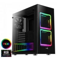 Aerocool Tor Tempered Glass RGB Midi PC Gaming Case