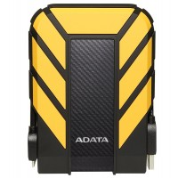 ADATA HD710 1TB USB 3.1 High Speed IP68 Military Grade Water, Dust, Shock Proof Rugged External Hard Drive - Yellow