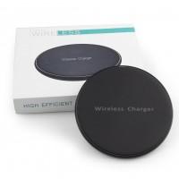 Universal Fast Charging QI Wireless Telephone Charging Pad Black