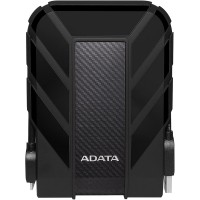 ADATA HD710 2TB USB 3.1 High Speed IP68 Military Grade Water, Dust, Shock Proof Rugged External Hard Drive - Black
