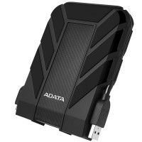 ADATA HD710 4TB USB 3.1 High Speed IP68 Military Grade Water, Dust, Shock Proof Rugged External Hard Drive - Black