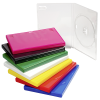 Amaray Premium DOUBLE CLEAR 14mm DVD Case - 50 BOX - AMA02325KA