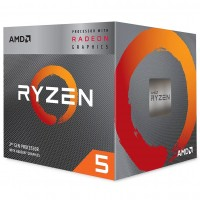AMD Ryzen 5 3400G VEGA Graphics AM4 Gen3 CPU with Wraith Spire Cooler