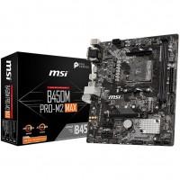 MSI AMD B450M PRO-M2 MAX mATX Socket AM4 Motherboard