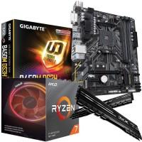 Ryzen 3700X 8-Core CPU with RGB Wraith Cooler, Gigabyte B450M DS3H mATX Motherboard & XPG Gammix 16GB 3200MHz Memory (2x8GB) Bundle
