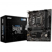 MSI Intel B460M-A PRO s1200 Micro-ATX Motherboard