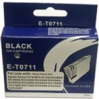 Epson BOXED E-T0 711 Compatible Ink Cartridge - BLACK