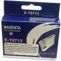 Epson BOXED E-T0 713 Compatible Ink Cartridge (MAGENTA) - S20, SX200, SX400 etc.