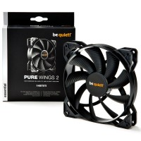 Be Quiet! BL047 Pure Wings 2 14cm Case Fan, Rifle Bearing, Black, Ultra Quiet Case Fan