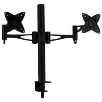 Brateck BT-LCDT9 Dual/Double Monitor Desk Mounting Bracket for TWO LCD TV - Black