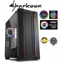 Sharkoon Elite Shark CA200M Black ATX Gaming Full Tower Case