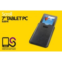 "Storage Options 55548 Scroll 7"" Tablet Leather Look Sleeve"
