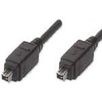 FireWire 4-pin to 4-pin - 1.8 Metre Length (AK-1394-1844)