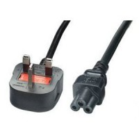 5 AMP UK Mains to Clover Leaf Cable (Mickey Mouse) C5 - 1.8M