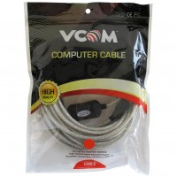 VCOM USB 2.0 A (M) to USB 2.0 A (F) with IC Power 10m Active USB Extension Data Cable