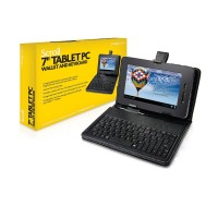 Storage Options 55549 Wallet & Keyboard for 7inch Scroll Tablet PC
